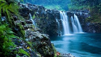 Right in the yard - 25' waterfall