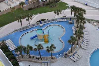 AERIAL VIEW OF THE TODDLER POOL