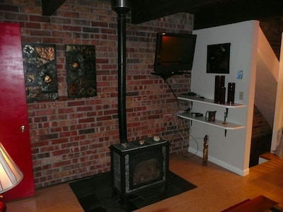 Gas Furnace + TV at Living Room