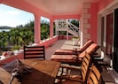 Guests can relax or dine on the front verandah
