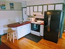 Kitchen with all the amenities