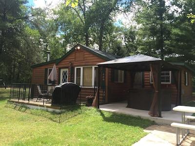 Yard and cabin
