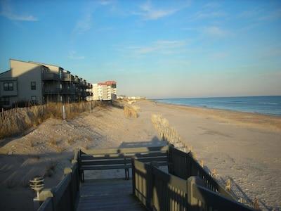Walkway down to the Beach