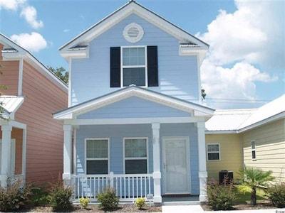 Gulfstream Cottages, Myrtle Beach, South Carolina, USA