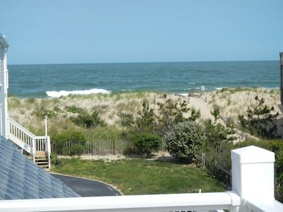 2nd Floor deck with beautiful ocean views