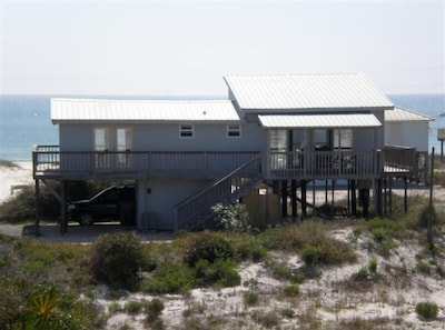 View of Sea Dunes from the back