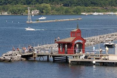 Port de plaisance Seneca, Watkins Glen, New York, États-Unis d'Amérique