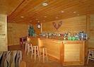 Bar area with foosball table