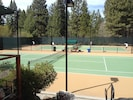 Incline tennis center with 7 courts, clubhouse with staff, pro for lessons