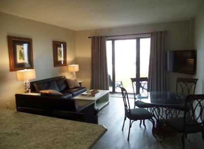 Recently updated, 2 bedroom, end unit condo located on the first floor.