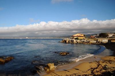 San Carlos Beach - The Breakwater, Monterey, Californie, États-Unis d'Amérique