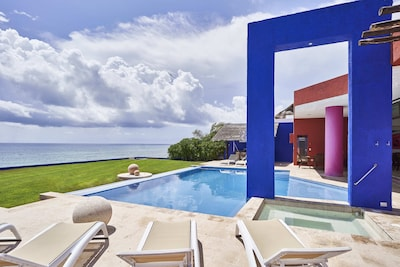Pool Terrace and Yard