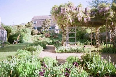 Wide View of Barn from Suzanne's Garden
