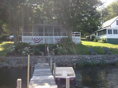 The cottage front July 7, 2017.