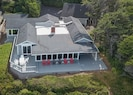 Ariel View - surrounded by plants for privacy quiet and home designed for views!
