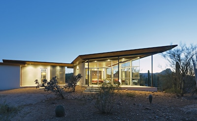'Architectural Digest' comes to the desert - unique design, at one with nature