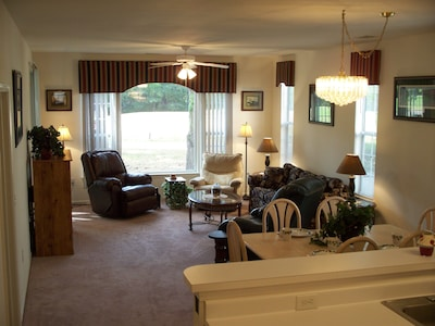 Livingroom with view of hole #2