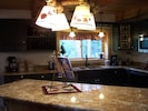Fully Applianced kitchen with granite counters,  &stainless steel