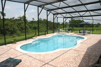 30'x15' XL Pool on Overextended Deck