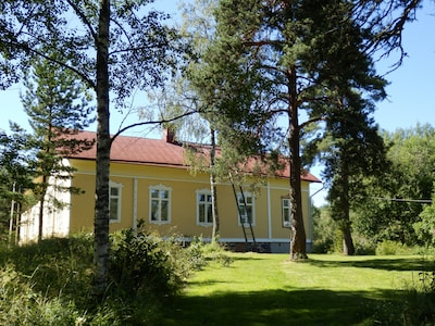 The main building from back yard side