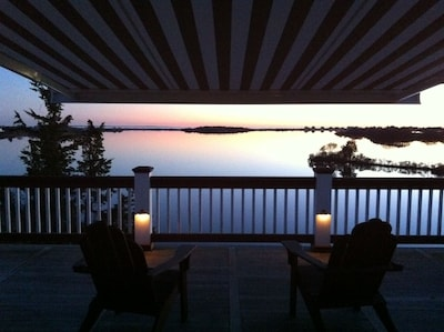 Stunning Evening Views From The Master Bedroom