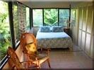 Upper Residence queen bedroom sunroom