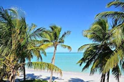 Gorgeous beachfront location.
