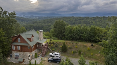 Million dollar view our property on a mountain top in Blue Ridge Mountains