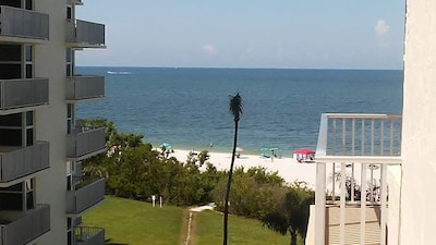 View from the Balcony towards the Gulf