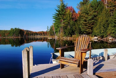 Peace and quiet. Easy to leave your worries behind.