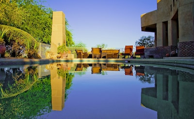 Perfect Desert Morning by our Pool