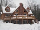 The River Ridge Lodge in the Winter