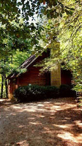 Cabin Nestled in the Woods, with parking for two