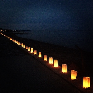 Amazing spot for Heritage days when the seawall is lit with candles