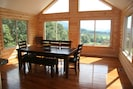 dining room - look at the views while you dine!