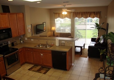 Kitchen and Main Living Area