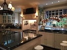 Our fully-equipped kitchen.  bar for 12 -   &incredible chef or cook your own