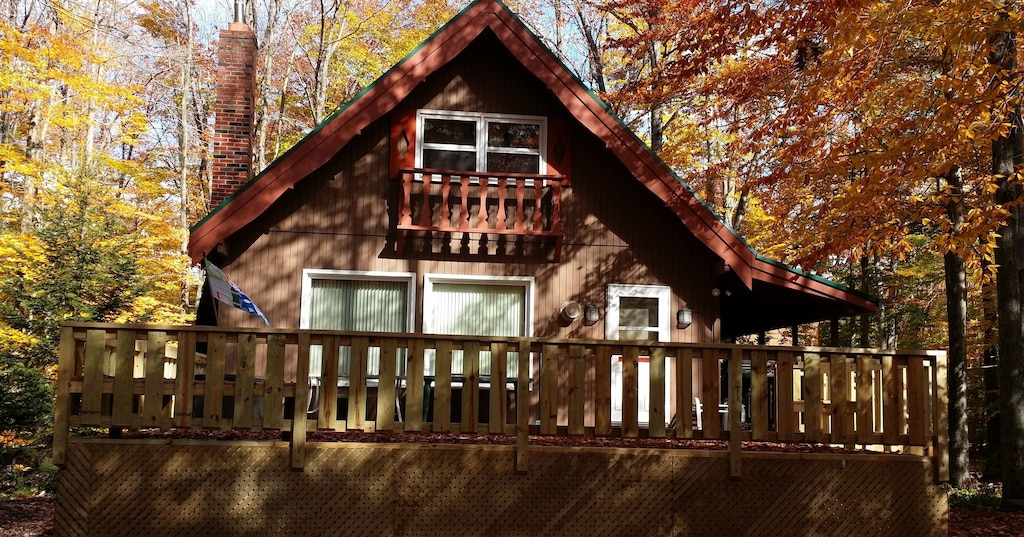 Beautiful Mountain Cabin 1 Block From State Forest Hot Tub And Free Wifi Locust Lake Village