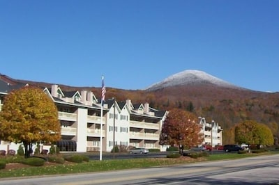 The Nordic Inn on Main Street in Lincoln, NH