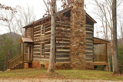 Back/side of cabin