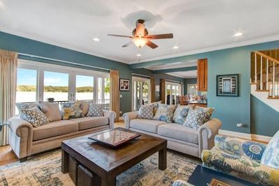 Enjoy breathtaking views throughout this home!