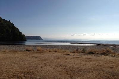 Close to the Kuratau River mouth