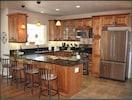 View of gourmet kitchen
