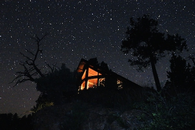At just over 4,000 feet elevation, the skies are flooded with stars