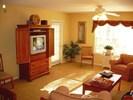 Livingroom with TV  entertaining area