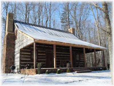 The Log Home - Stevenson Ridge