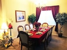 Dining Room Table  with Settings