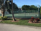 Tennis courts and pickle ball