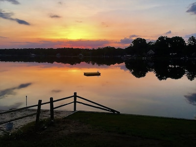 Early Morning Sunrise from the deck