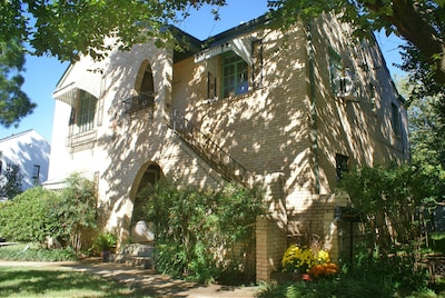 Jardin de roses Charles E. Sparks, Oklahoma City, Oklahoma, États-Unis d'Amérique
